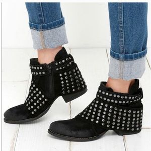 Matisse studded leather ankle boots